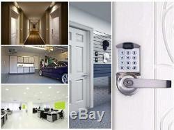 Fingerprint Door Lock Keyless Biometric Keypad Smart Lock Automatic Locking