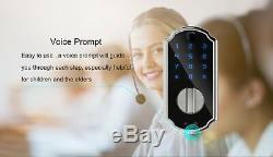 Fingerprint Door Lock, Smart Lock Touchscreen Keypad Keyless Digital Door Lock