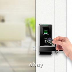 Fingerprint Door Lock with Bluetooth Biometric Lever Lock, Keyless Digital Smart