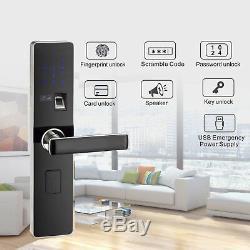 Fingerprint Doorlock Keyless Lock Smart Digital / Password / IC Karte / Key