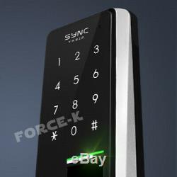 Fingerprint Doorlock SYNC TR812 Keyless Lock Smart Digital Biometric+Pin Entry