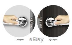 Fingerprint Keyless Entry System Digital Biometric Smart Door Lock Home Security