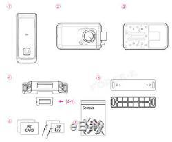Fingerprint Keyless Lock Milre MI-500F Smart Digital Doorlock Passcode+RFID 3Way