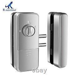 Fingerprint Lock Touchscreen Keyless Smart Lock with Keypad and LCD Screen New