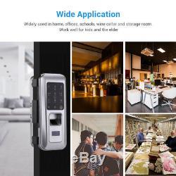Fingerprint Smart Door Lock Doorbell Keyless Security Electronic Entry Keypad