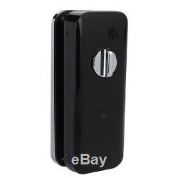 Fingerprint Smart Door Lock Password Touch/ Remote Access Control Keyless Glass