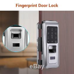 Fingerprint Smart Door Lock Security Password Home Keyless Card Keypad Biometric