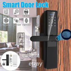 Fingerprint Smart Wifi bluetooth Door Lock Keyless Security Waterproof Keypad En