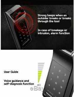 GATEMAN WF-20 Digital Door Lock Smart Touch Keypad Keyless Fingerprint