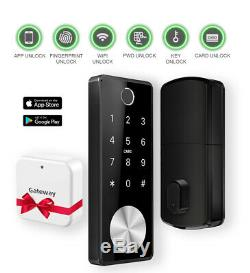 GOODLOCK Smart Door Lock Electronic Keyless Entry Deadbolt 6 Ways to Open
