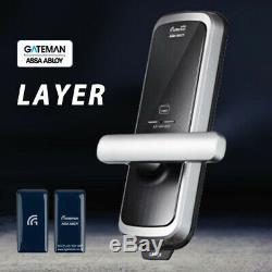 Gateman ASSA ABLOY Mortise Doorlock LAYER Digital Smart Keyless Lock Pin+RFID