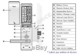 Gateman iRevo Keyless Lock E110F Smart Digital Mortise Doorlock Passcode+4 RFID