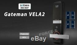 Gateman iRevo Mortise Doorlock VELA2 Digital Smart Keyless Lock Passcode+4 RFID