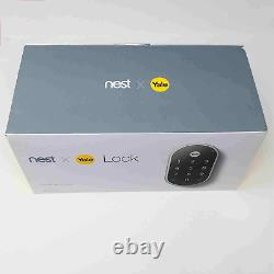 Google Nest X Yale Tamper-Proof Smart Lock for Keyless Entry with Nest Connect