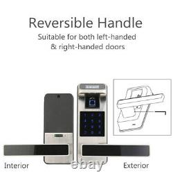 HARFO F01 Fingerprint and Touchscreen Keyless Smart Lever Door Lock