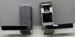 HARFO F01 Fingerprint and Touchscreen Keyless Smart Lever Door Lock (k)