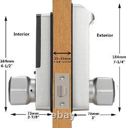 Harfo K1 Fingerprint Door Lock, Keyless Entry Door Lock, Smart Door Lock, Keypad