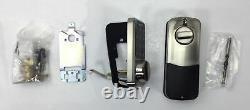 Hornbill, Smart Lock Keyless Entry Deadbolt Digital Lock, HBUS-MD-SIL, Chrome