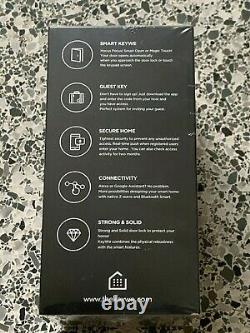 KeyWe Smart Home Security Keyless Entry Door Lock with Keypad, bluetooth, Alexa