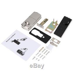 Keyless Bluetooth Smart Digital Door Lock Electronic Touch Password Security AM
