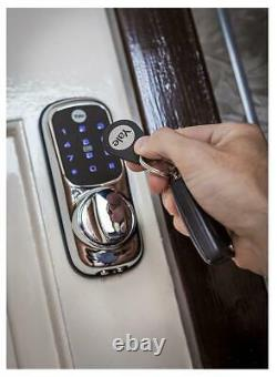 Keyless Connected Smart Door Lock, Polished Brass YALE
