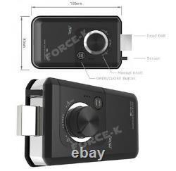 Keyless Lock Milre MI-460T Digital Doorlock Smart Security Entry Password+4 RFID