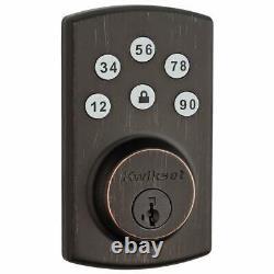 Kwikset 99070-103 Powerbolt 2 Door Lock Single Cylinder Electronic Keyless Entry