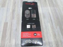 Kwikset 99380-002 Halo Wi-Fi Smart Lock Keyless Entry Electronic Keypad Deadbolt