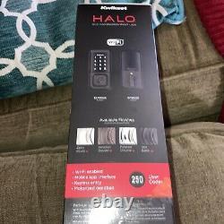 Kwikset 99390-004 Halo Wi-Fi Smart Lock Keyless Entry Electronic Touchscreen