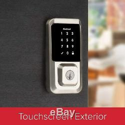 Kwikset Halo 939 Wi-Fi Smart Lock Keyless Touchscreen Deadbolt Satin Nickel NEW