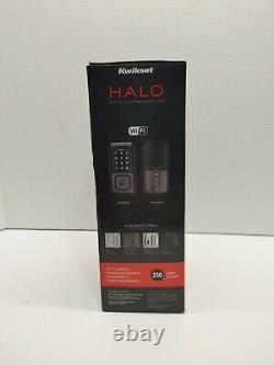 Kwikset Halo Smart Lock Wifi Touchscreen Keyless Entry Venetian Bronze 99390-002