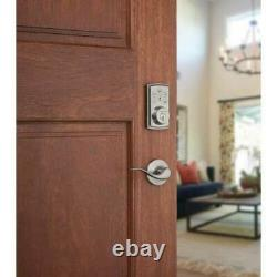 Kwikset Smart Door Lock Keyless Entry Smart Key Automatic Door Lock Z-Wave