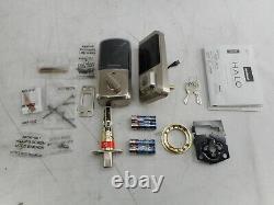 Kwikset Smart Lock Keyless Entry Electronic Touchscreen Deadbolt, Satin Nickel