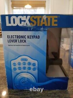 LOCKSTATE LS-L5i-RB-A Electronic Keyless Lock, WiFi smart lock