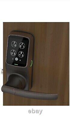 Lockly Bluetooth Keyless Fingerprint Smart Lock (PGD628F) VenetianBronze