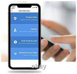 Lockly Secure Pro Bluetooth Fingerprint WiFi Keyless Entry Smart Door Lock