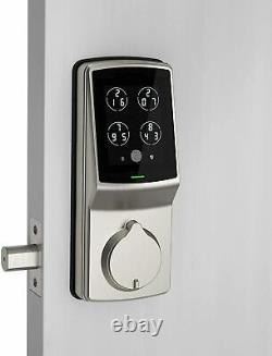 Lockly Secure Pro Bluetooth Fingerprint WiFi Keyless Entry Smart Door Lock new