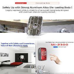 Milre MI-2300 Smart Digital Door Lock Electronic Security Keyless Entry Password