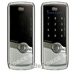 Milre MI-430 Digital Doorlock Smart Entry Keyless Lock Pin + 4 IC Key Silver