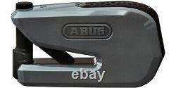 NEW ABUS SMART X DETECTO 8078 DISC ALARM LOCK Smart Technology KEYLESS GREY