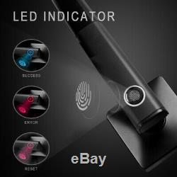 NOVPEAK Biometric Fingerprint Smart Door Lock Bluetooth Keyless Remote Handle