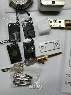 Narpult Fingerprint Smart Lock, Keyless Entry Door Lock, Electronic Deadbolt