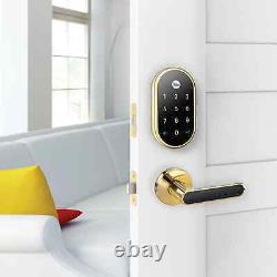 Nest x Yale -Keyless Smart Lock with Nest Connect Polished Brass RB-YRD540