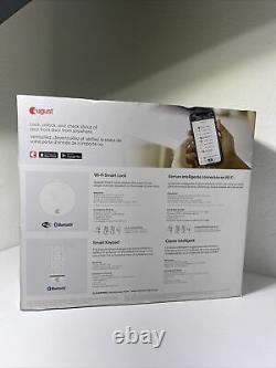 New August Wi-Fi Bluetooth Smart Lock + Smart Keypad AUG-SL05-K02-G01