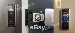 New Hook System EVERNET EN250H Smart Keyless Lock Digital Doorlock Passcode+RFID