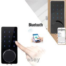 New Keyless Bluetooth Smart Digital Door Lock Electronic Touch Password Security