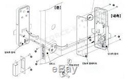 New Keyless Lock CDL-400M Smart Digital Doorlock Mortise Security Entry Pin+RFID