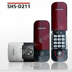 New SAMSUNG EZON SHS-D211 Smart Digital Door Lock Keyless Entry PassCode+IC Keys