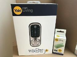 New Yale Keyless Connected Touch Screen Smart Wireless Door Lock + Z-WAVE MOD