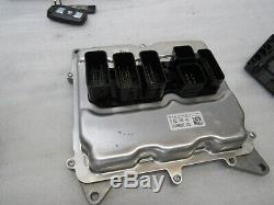 OEM 2015-2016 BMW E89 Z4 28i N20 Engine Computer DME CAS 3 Key Set 13K 14921 D17